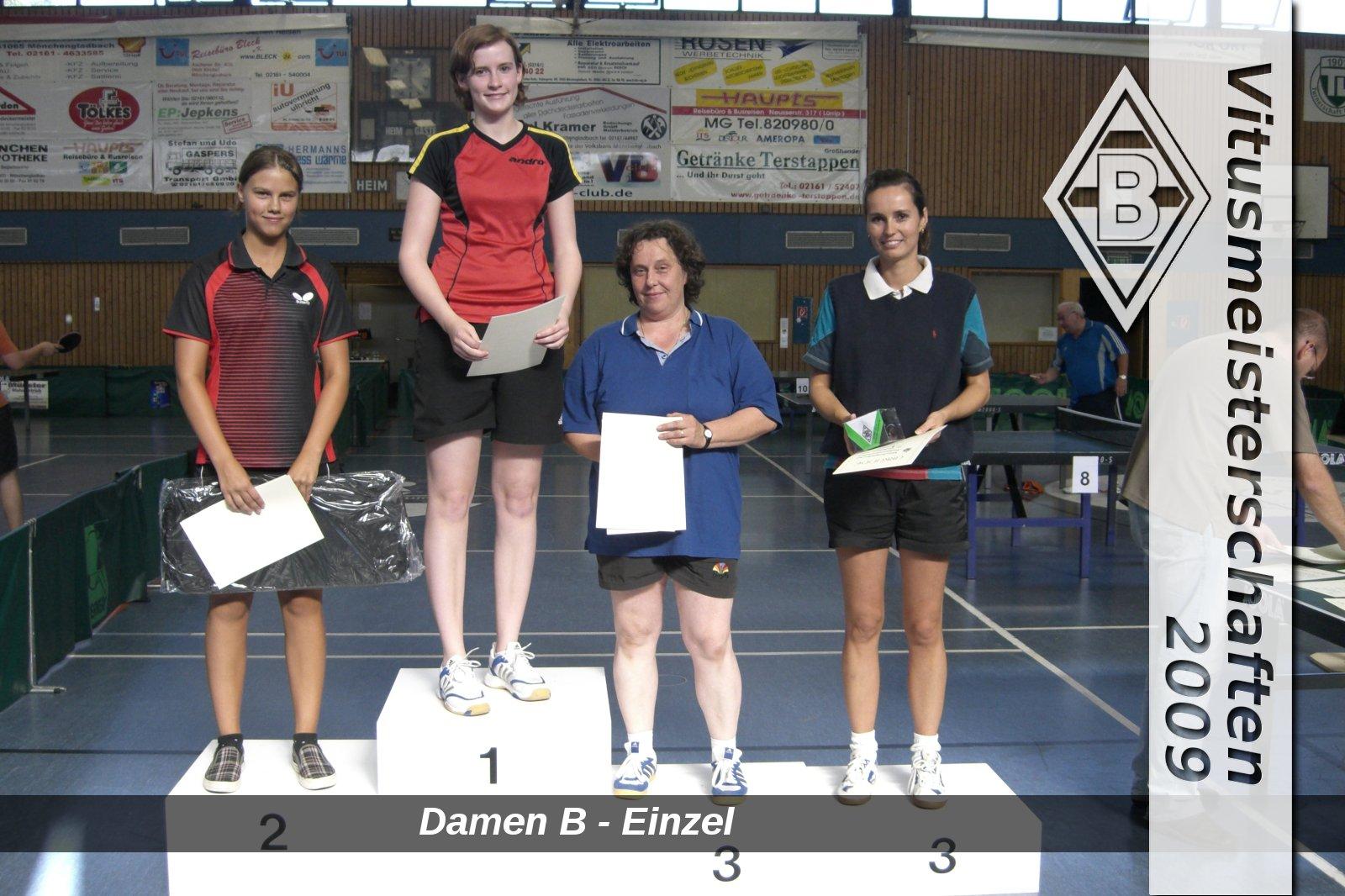 VM2009-DamenB-Einzel