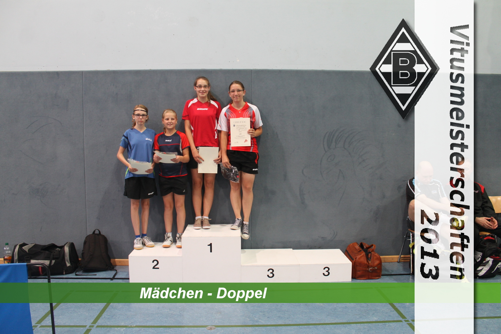 Maedchen-Doppel